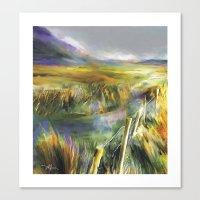Approaching Rain - Achill Island - Ireland Canvas Print
