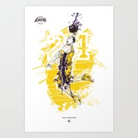 Kobe Bryant Tribute Art Print