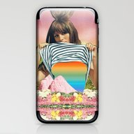 Internal Rainbow II iPhone & iPod Skin