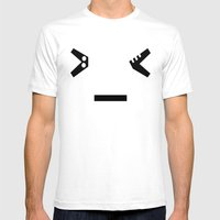 Mad Mens Fitted Tee White SMALL