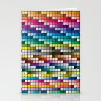 Color Chart Stationery Cards