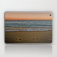 Barceloneta night Laptop & iPad Skin