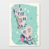 Ithaca Canvas Print