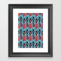 African ladies Framed Art Print