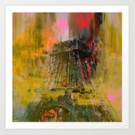 Paris  Forever   (A Day … Art Print
