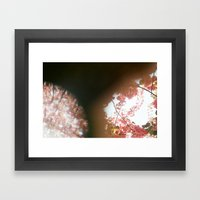 perhaps hand Framed Art Print