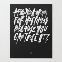 FELT Canvas Print