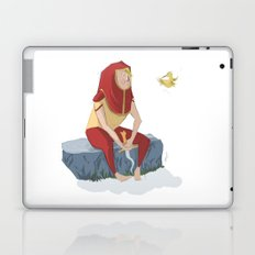 henon and his bird Laptop & iPad Skin