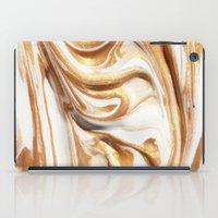 MARBLE CREAM iPad Case