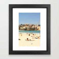 Beautiful Bondi Beach Framed Art Print