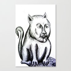 Cat being Canvas Print