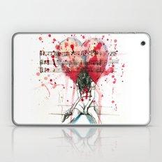 the song unheard Laptop & iPad Skin