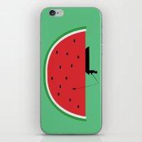 Watermelon Fisher iPhone & iPod Skin