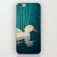 Duck Reflected iPhone & iPod Skin