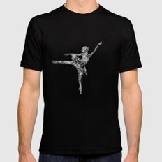 ballerina dream Mens Fitted Tee Black SMALL