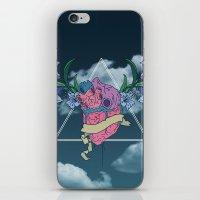 Heart In The Sky iPhone & iPod Skin