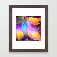 Colourful Abstract With … Framed Art Print