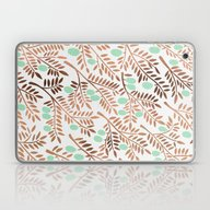 Olive Branches – Rose … Laptop & iPad Skin