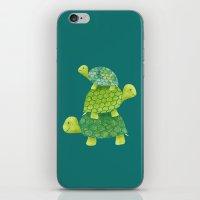 Turtle Stack iPhone & iPod Skin