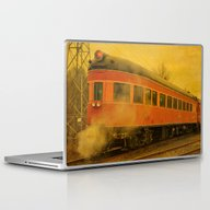 CHRISTMAS STEAM TRAIN Laptop & iPad Skin