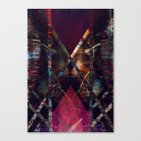 disquiet eleven (luxação) Canvas Print