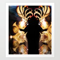 Shiny and bold [Digital Figure Illustration] Art Print