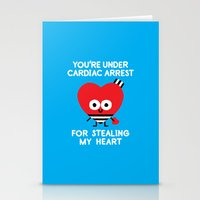 Aww Enforcement Stationery Cards