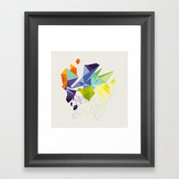 Irregular Framed Art Print