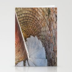 A Downward Spiral in Time Stationery Cards