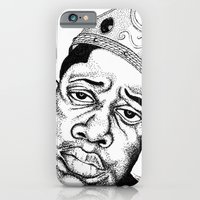 Biggie Smalls Stippling iPhone 6 Slim Case
