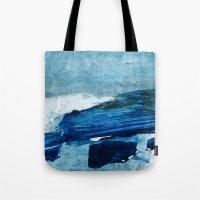 Arctic Landscape Tote Bag