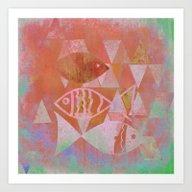 The Fish Pond Art Print
