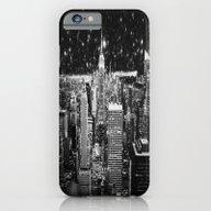 Starry Night In New York iPhone 6 Slim Case