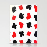 Queen Of Hearts Stationery Cards