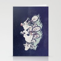 Ghost Race Stationery Cards