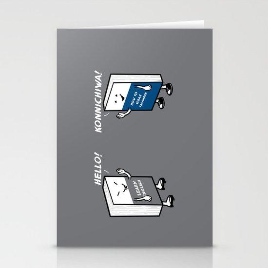 Say Hello Stationery Card