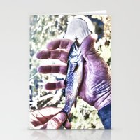 Fish Hand Stationery Cards