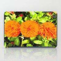 Pop Art Flowers iPad Case