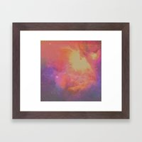 Ghosting Framed Art Print