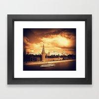 Moscow Kremlin Framed Art Print