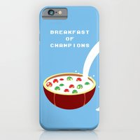 iPhone & iPod Case featuring Breakfast of Champions by Chris Redford