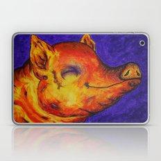 Pig, Happy Laptop & iPad Skin