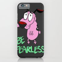 iPhone & iPod Case featuring Be Fearless by Angelus