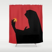 Pearl - A Figure Offers … Shower Curtain