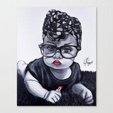 Baby Badu Canvas Print