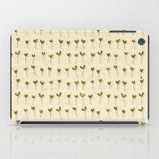 sprouts cream iPad Case