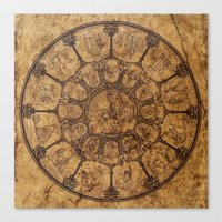 Wheel Of Time Canvas Print