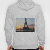 Sunrise with Eiffel Tower Hoody