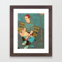 Sk8 or Die Framed Art Print