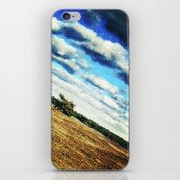 Diagonal Horizon iPhone & iPod Skin